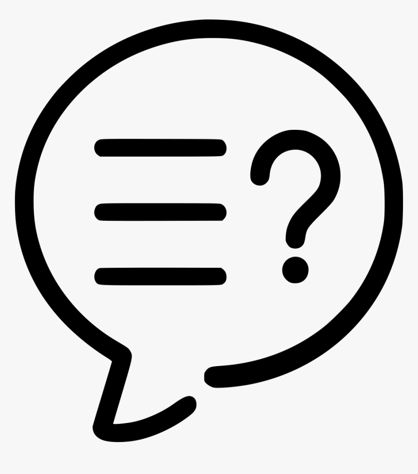 580 5807925 q a q and a icon png transparent