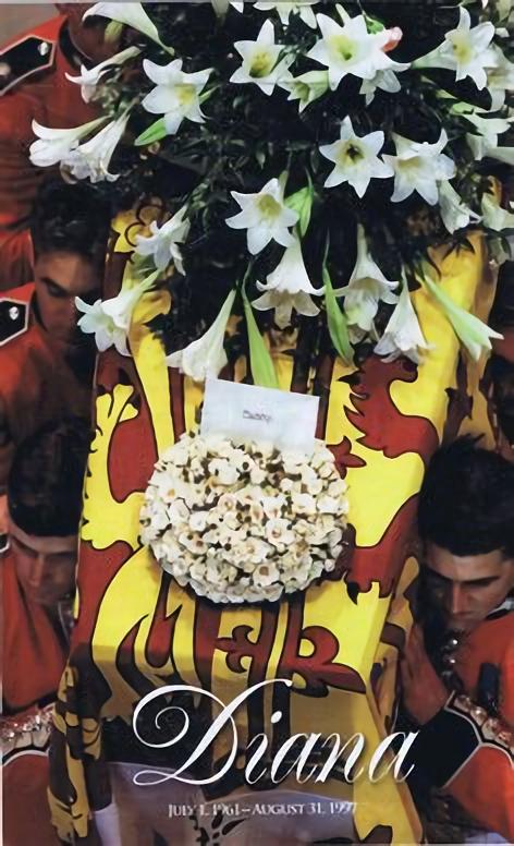Lady Dianas Beerdigung  1997
