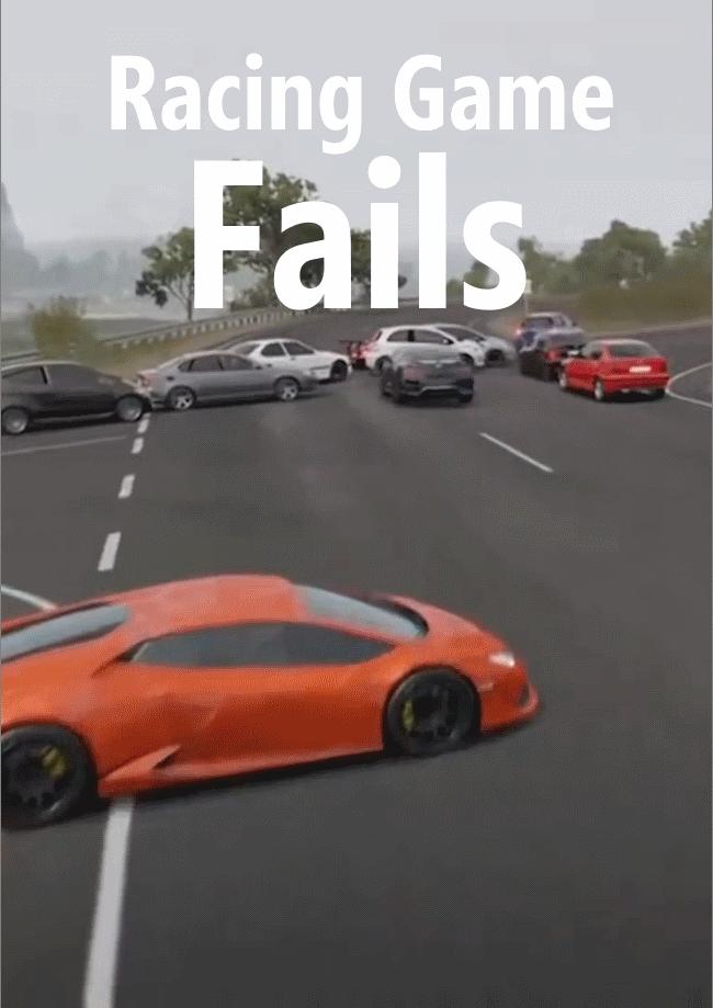 racing game fails