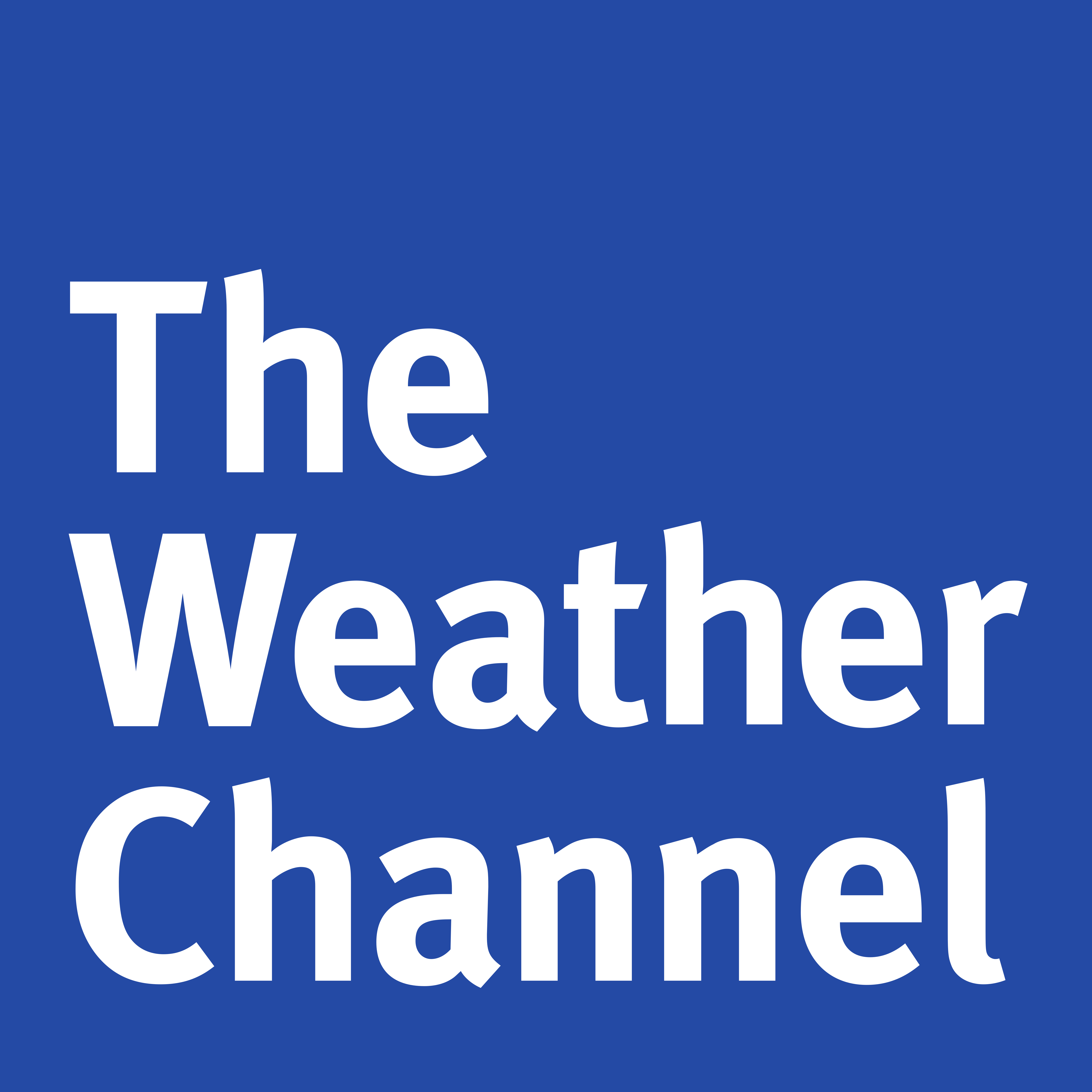 The Weather Channel in 5000 pixels